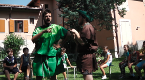 Little John e Robin Hood